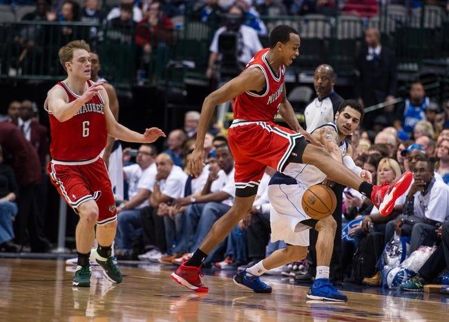 Bucks vs. Mavericks - 12/3/14 NBA Pick, Odds, and Prediction