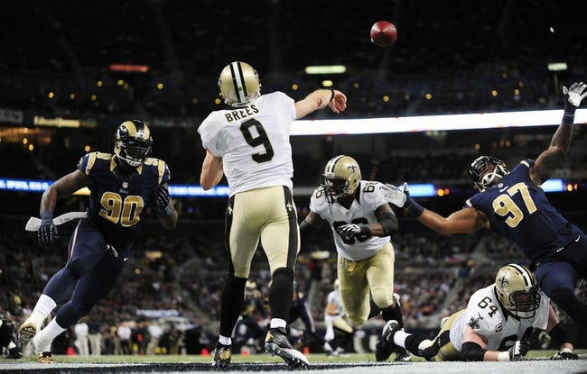 NFL Preseason Week One: New Orleans Saints at St. Louis Rams NFL Pick, Odds, Prediction 8/8/14