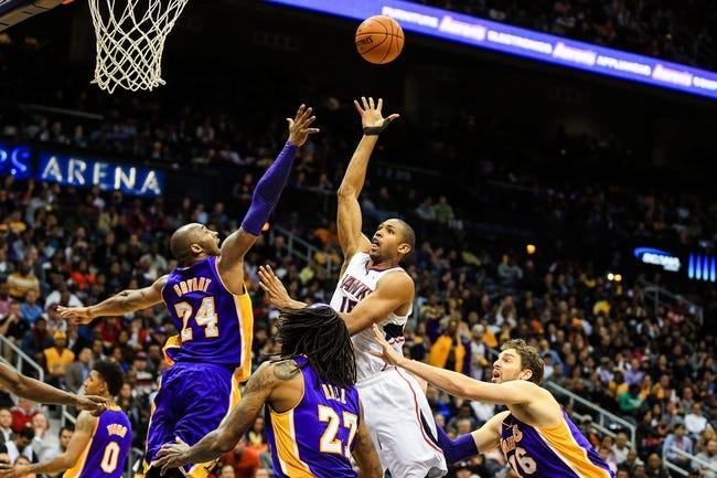 Atlanta Hawks vs. Los Angeles Lakers - 11/18/14 NBA Pick, Odds, and Prediction