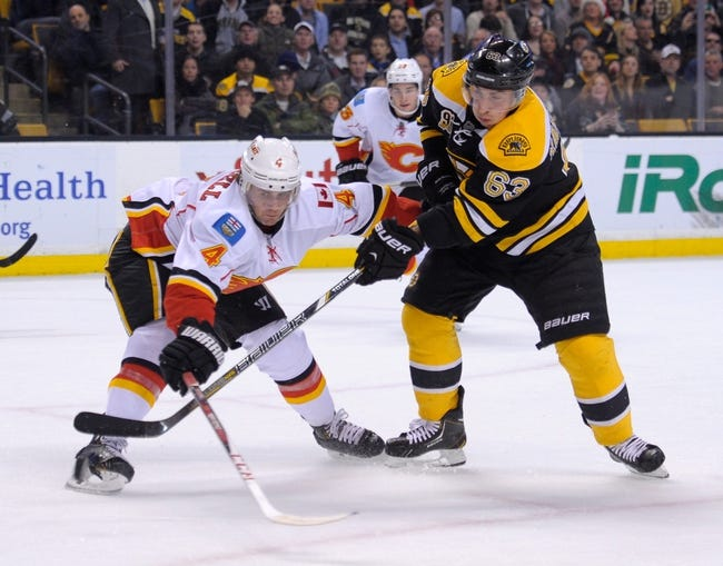 Calgary Flames vs. Boston Bruins - 2/16/15 NHL Pick, Odds, and Prediction