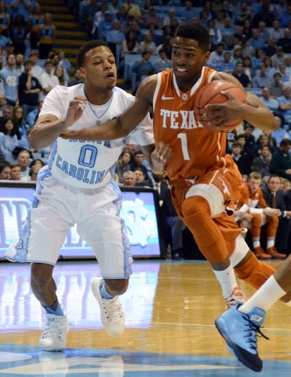 Texas vs. North Carolina - 12/12/15 College Basketball Pick, Odds, and Prediction