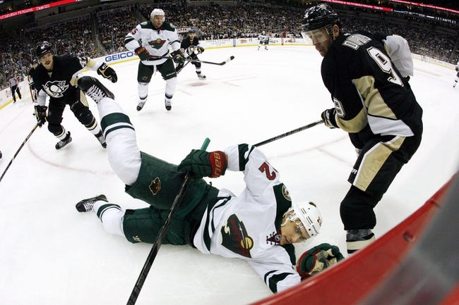 Minnesota Wild vs. Pittsburgh Penguins - 4/5/14