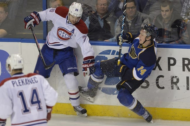 NHL | St. Louis Blues (12-5-1) at Montreal Canadiens (14-5-1)