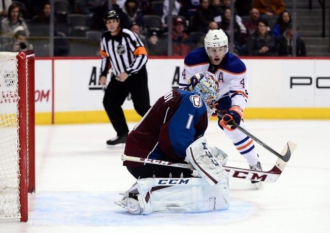 Edmonton Oilers vs. Colorado Avalanche - 4/8/14