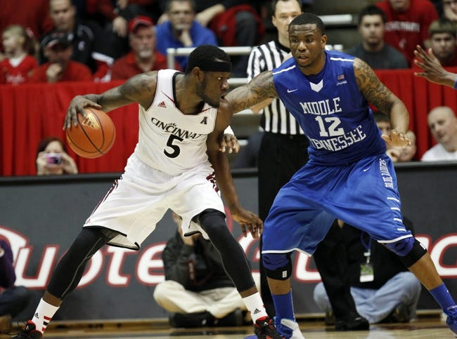 Cincinnati vs. Middle Tennessee - 11/28/14 College Basketball Pick, Odds, and Prediction