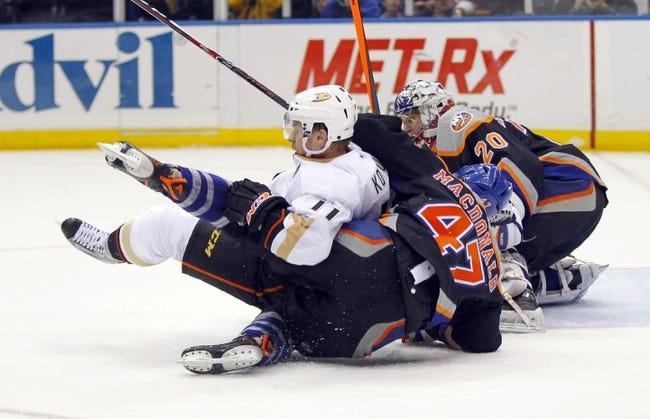 Anaheim Ducks vs. New York Islanders - 11/5/14 NHL Pick, Odds, and Prediction