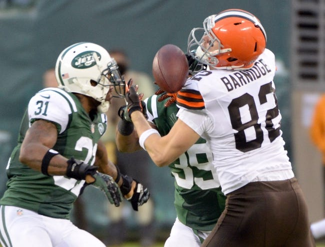 Cleveland Browns at New York Jets- 9/13/15 NFL Pick, Odds, and Prediction
