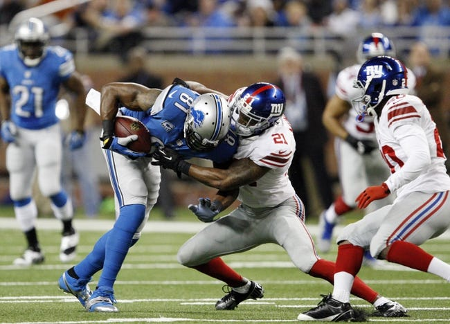 NFL | New York Giants (0-0) at Detroit Lions (0-0)