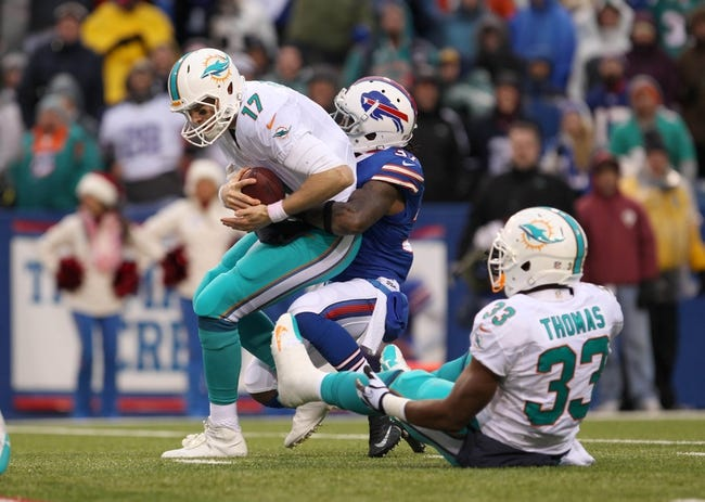 Miami Dolphins at Buffalo Bills - 9/14/14 NFL Pick and Odds