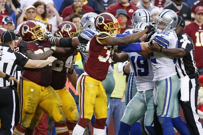 Cowboys vs. Redskins - 10/27/14 NFL Pick, Odds, Prediction