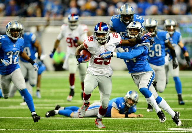 New York Giants at Detroit Lions - 9/8/14 NFL Pick and Odds