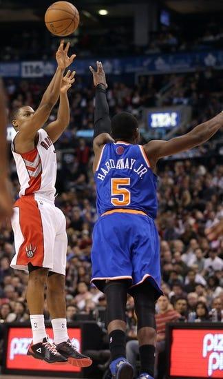 Toronto Raptors vs. New York Knicks - 4/11/14