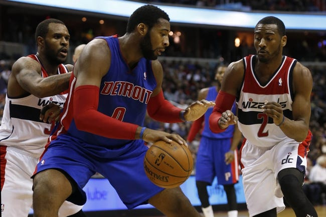 Detroit Pistons vs. Washington Wizards - 10/12/14 NBA Preseason Pick, Odds, Prediction