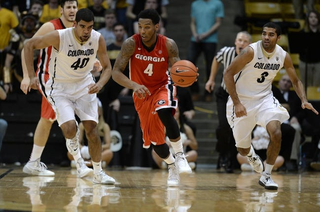 Georgia Bulldogs vs. Colorado Buffaloes - 12/7/14 College Basketball Pick, Odds, and Prediction