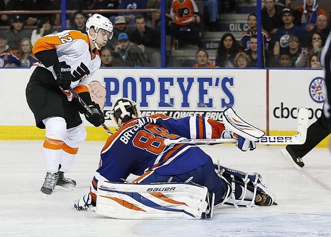 Philadelphia Flyers vs. Edmonton Oilers - 11/4/14 NHL Pick, Odds, and Prediction