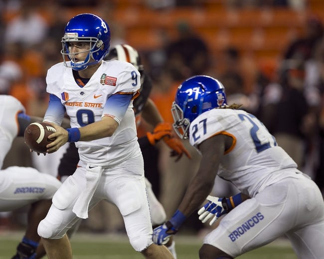 Boise State Broncos vs. Mississippi Rebels Pick-Odds-Prediction - 8/28/14