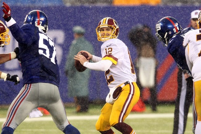 Washington Redskins vs. New York Giants - 9/25/14 NFL Pick and Odds