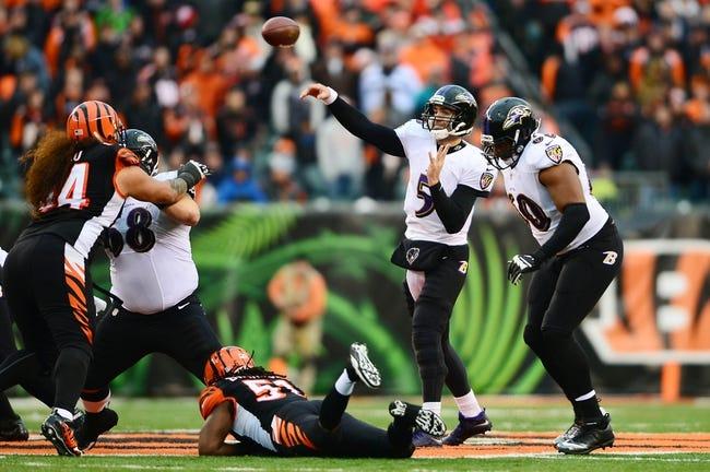 Baltimore Ravens vs. Cincinnati Bengals 9/7/14 NFL Pick, Odds, Prediction