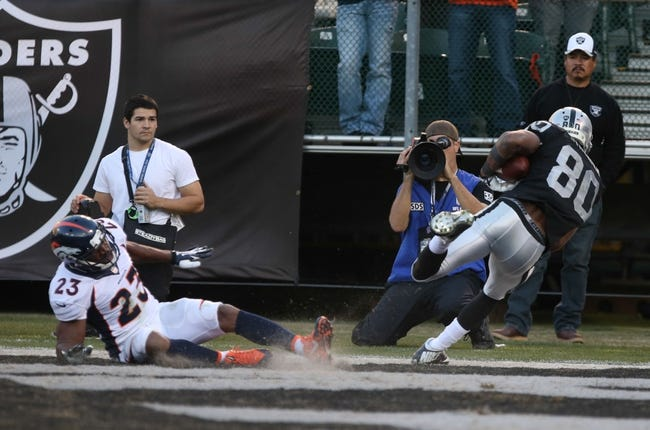Oakland Raiders vs. Denver Broncos - 11/9/14 NFL Pick, Odds, and Prediction