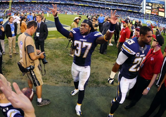 Kansas City Chiefs at San Diego Chargers - 10/19/14 NFL Pick, Odds, Prediction