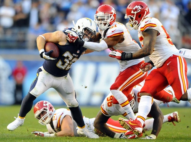 San Diego Chargers vs. Kansas City Chiefs 10/19/14 NFL Pick, Odds, and Prediction