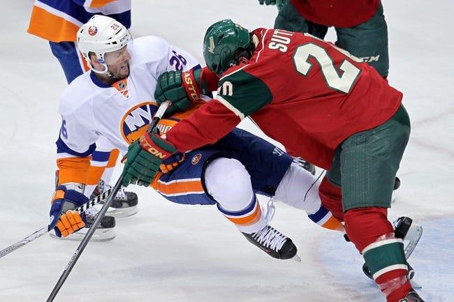 Minnesota Wild vs. New York Islanders - 12/9/14 NHL Pick, Odds, and Prediction