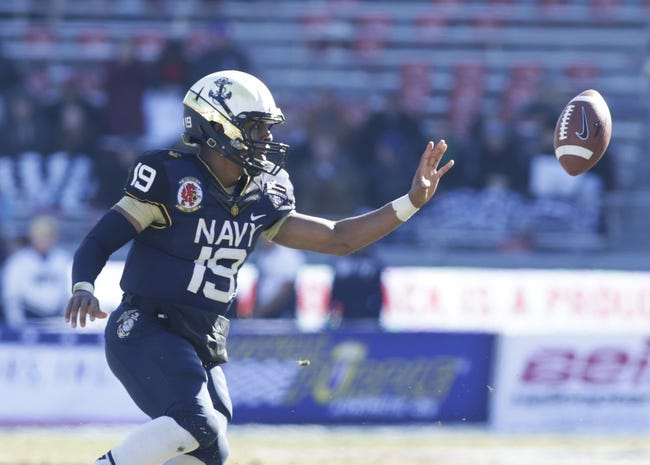 Navy Midshipmen vs. Ohio State Buckeyes Pick-Odds-Prediction - 8/30/14