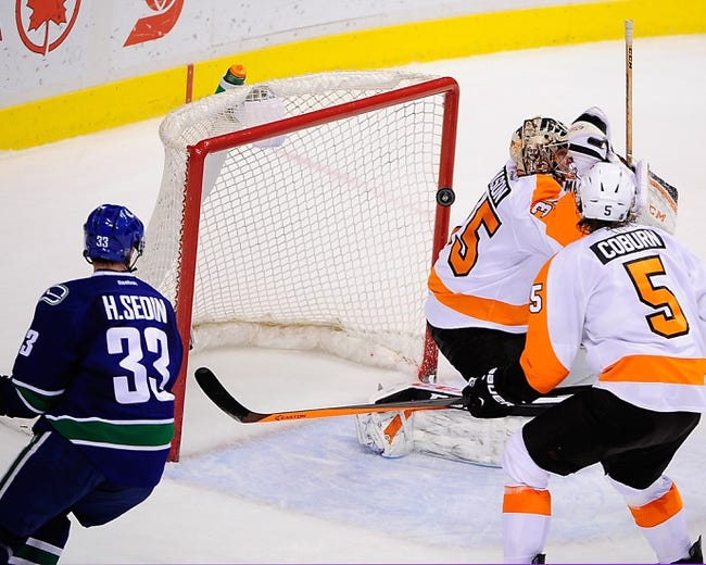 NHL | Vancouver Canucks (23-15-3) at Philadelphia Flyers (17-19-7)