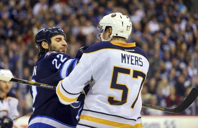 Buffalo Sabres vs. Winnipeg Jets - 11/26/14 NHL Pick, Odds, and Prediction