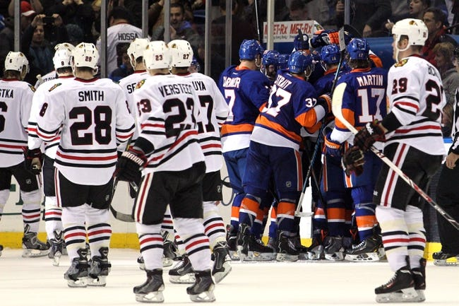 Islanders vs. Blackhawks - 12/13/14 NHL Pick, Odds, and Prediction