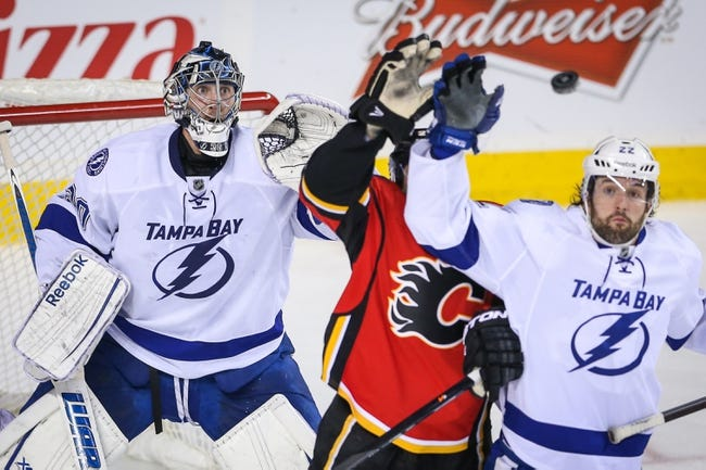 Tampa Bay Lightning vs. Calgary Flames - 4/3/14