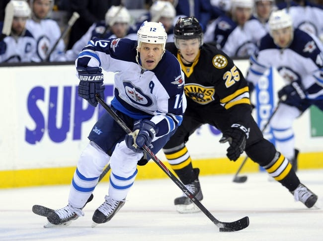Winnipeg Jets vs. Boston Bruins - 4/10/14