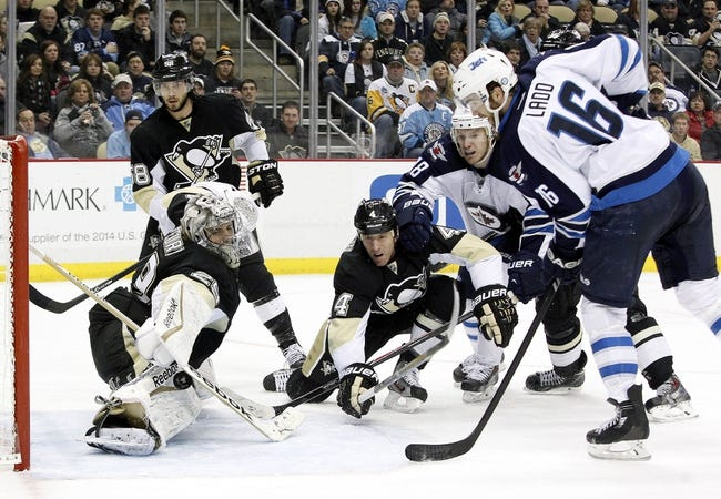 Winnipeg Jets vs. Pittsburgh Penguins Pick-Odds-Prediction - 4/3/14