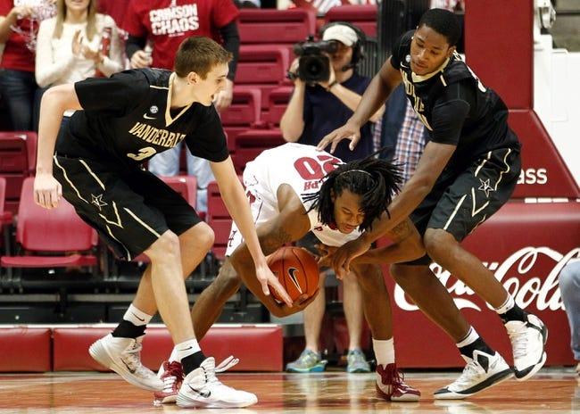 Alabama vs. Vanderbilt - 2/14/15 College Basketball Pick, Odds, and Prediction