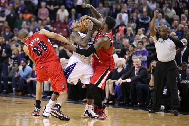 Portland Trail Blazers vs. Sacramento Kings - 4/9/14