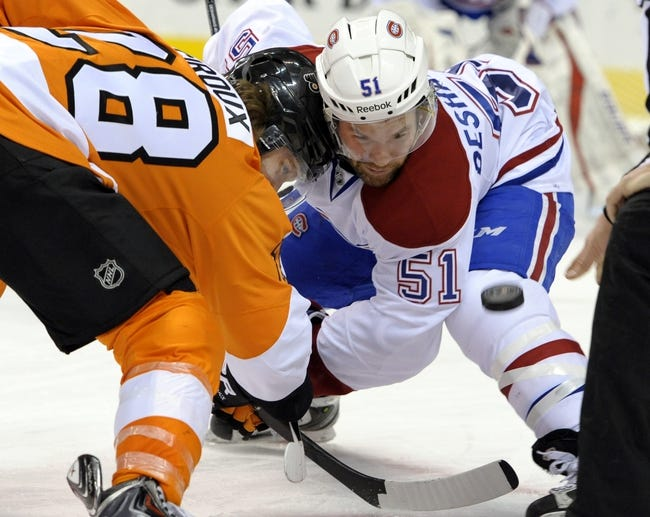 Philadelphia Flyers vs. Montreal Canadiens - 10/11/14