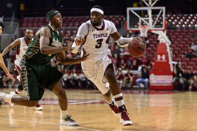 Temple Owls vs. South Florida Bulls - 1/22/15 College Basketball Pick, Odds, and Prediction
