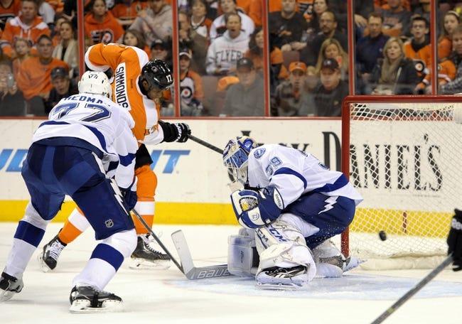 Tampa Bay Lightning vs. Philadelphia Flyers - 4/10/14