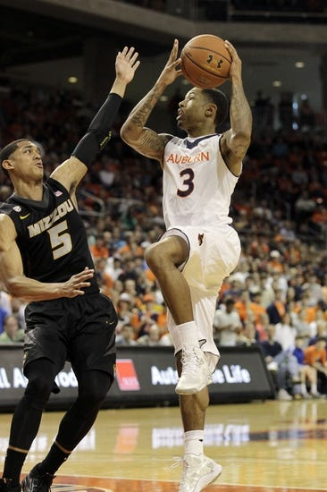 Auburn vs. Missouri - 1/10/15 College Basketball Pick, Odds, and Prediction