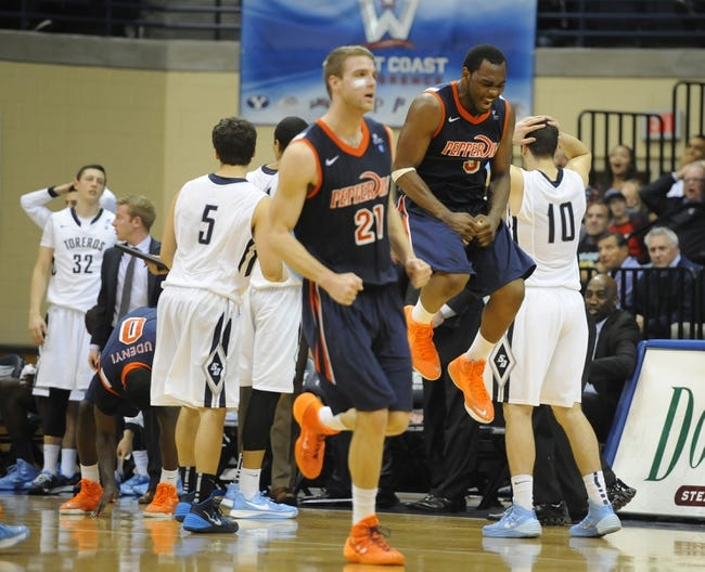 Pepperdine vs. IUPUI - 12/27/14 College Basketball Pick, Odds, and Prediction