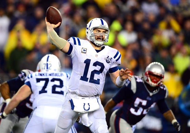 Fantasy Football 2014: Patriots at Colts 11/16/14 Week 11 Preview