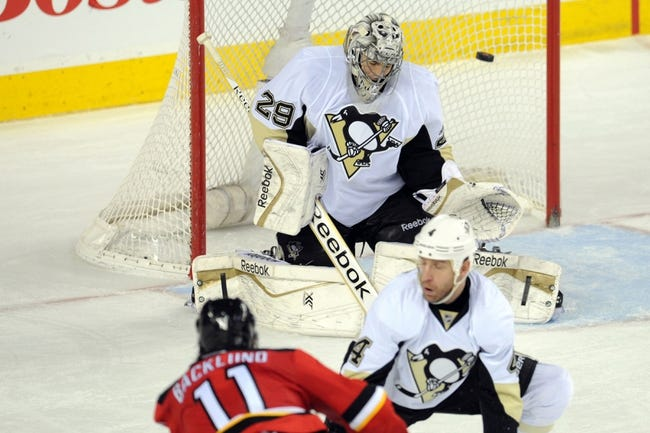 Pittsburgh Penguins vs. Calgary Flames - 12/12/14 NHL Pick, Odds, and Prediction