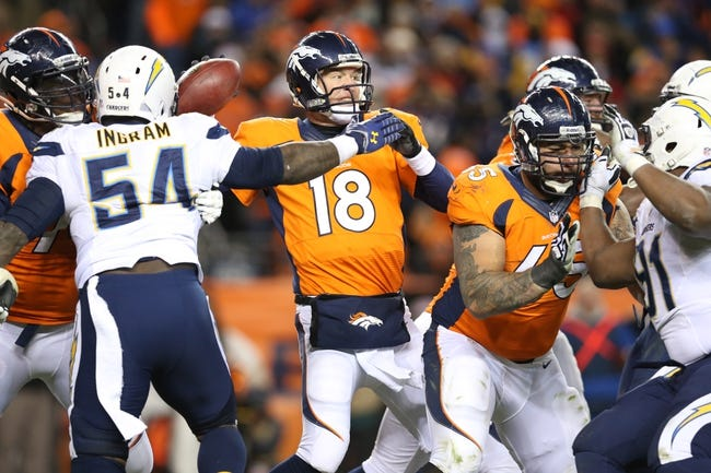 Fantasy Football 2014: Chargers at Broncos 10/23/14 Week 8 Preview