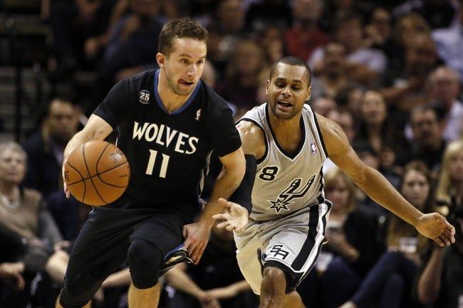 Minnesota Timberwolves vs. San Antonio Spurs - 4/8/14