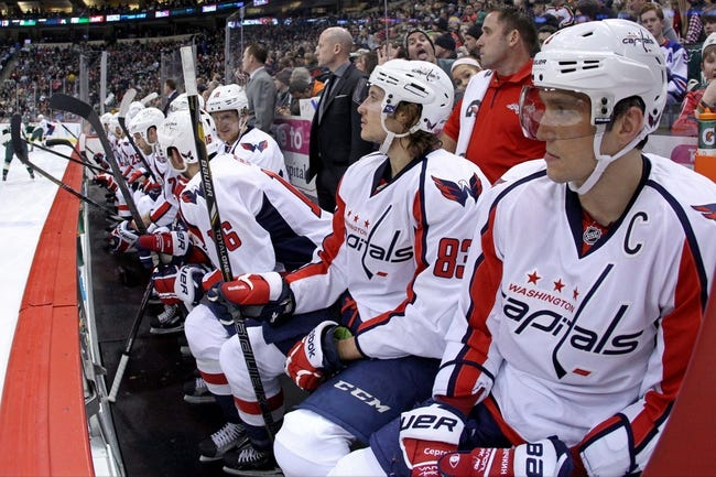 Washington Capitals vs. Minnesota Wild - 3/5/15 NHL Pick, Odds, and Prediction