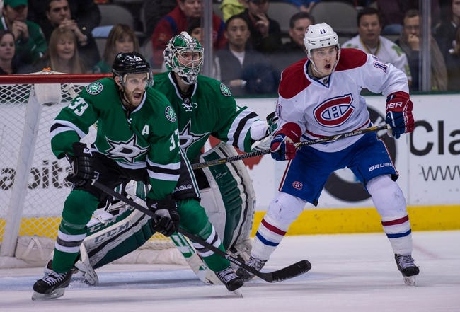 NHL | Montreal Canadiens (17-8-2) at Dallas Stars (9-12-5)