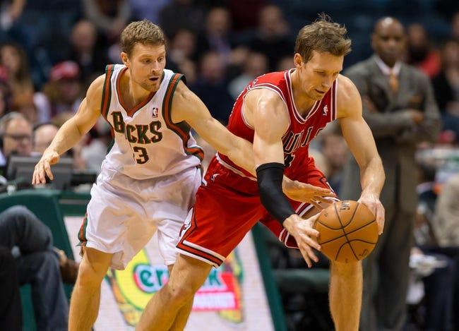 Chicago Bulls vs. Milwaukee Bucks - 4/4/14