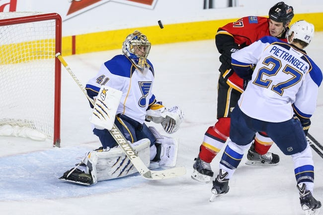 St. Louis Blues vs. Calgary Flames - 10/11/14 NHL Pick, Odds, Prediction