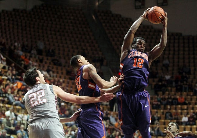 Clemson vs. Virginia Tech - 2/14/15 College Basketball Pick, Odds, and Prediction