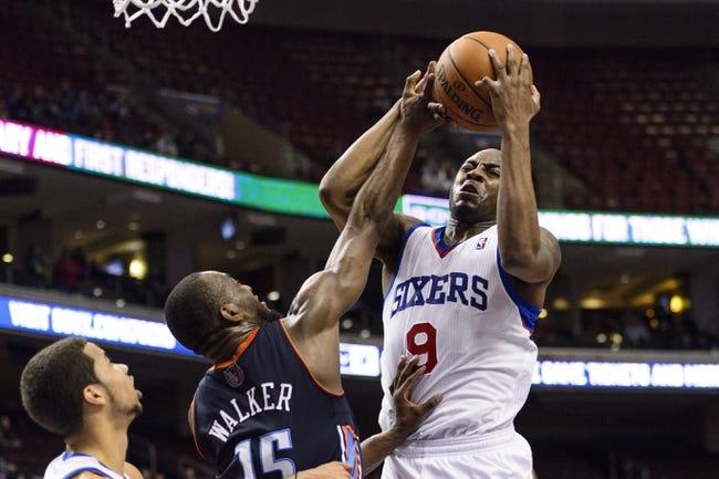 Philadelphia 76ers vs. Charlotte Bobcats - 4/2/14